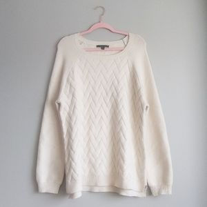 NWOT Cyrus Cream Sweater
